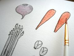 Learn How to Draw Vegetables With These Bite-Sized Steps