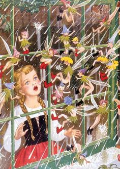 Fairies at the Window | Children and Fairies Anytime Greeting Cards