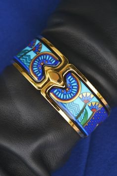 Freywille, bracelet, golden, blue