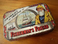 old Fisherman's Friend tin #vintage #collection