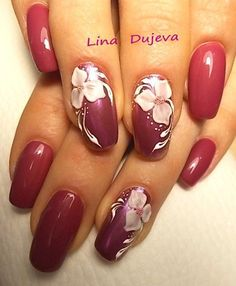 Фотографии Лины Дюжевой 3d Nails, Pink Nails, Acrylic Nails, Fingernail Designs, Nail Art Designs, Fancy Nails, Pretty Nails, Flower Nail Art, Healthy Nails