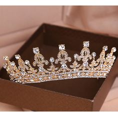 It's pretty :) but what is said on The Big Bang Theory when Sheldon gives Amy a Tiara - I'm a princess and this is my tiara and then she kisses and hugs him :P (you're right a tiara is to much) :P lol!!