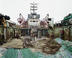 'Russian Fishing Trawler,' 2002. © Olaf Otto Becker. Image courtesy of Huxley-Parlour Gallery.