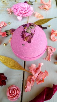 Goddess Bath Bomb by Bathhouse Soapery reigns over all things bubbly, heavenly fragranced and skin smoothing!