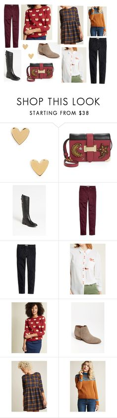 """""""Autumn Wish List 2"""" by superspacechick on Polyvore featuring Madewell, Sam Edelman and Compañia Fantastica"""