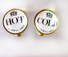 Vintage Wedding Cufflinks Hot Cold by NeatstuffAntiques on Etsy