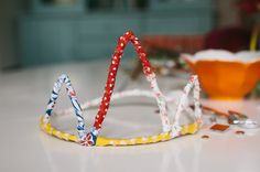 Pipe cleaner princess crowns...our next art project!