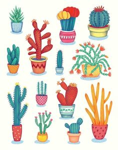 on Student ShowCactus! on Student Show Cute Cactus Clipart, Potted Clip Art, Desert Cactus, Printable Images, Cacti Graphics Set Cactuses Art Print Patio pattern Say hello to the cactus! Such a lovely and lifelong friend Cactus Drawing, Cactus Art, Cactus Flower, Flower Plants, Plant Drawing, Drawing Drawing, Flowers, Deco Floral, Motif Floral