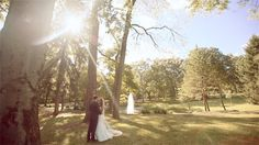 Grab your tissues, this absolutely stunning St. Louis wedding at Grant's Farm is packed full of emotion.  Lots of fun and animals too. :-) // PenWeddings // wedding video // wedding film