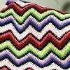 Rainbow Ripple Afghan | AllFreeCrochet.com