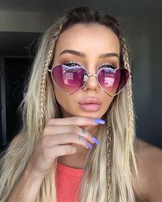 1d74959f77 oculos de sol feminino Picture - More Detailed Picture about Love Shape  Heart Sunglasses Women Brand Design Retro Alloy Frame Sun Glasses Vintage  Mirror ...