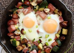 ULC Ham and Swiss Skillet, just one of the tasty recipes in Transforming Recipes. Seriously, this is the best ULC cookbook out there you need to get!