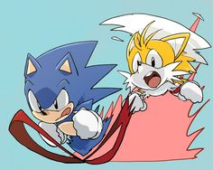 Classic Sonic and Tails
