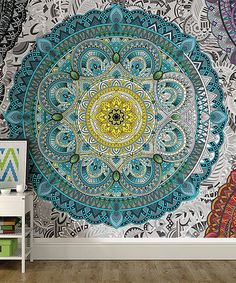 Another great find on #zulily! Shangri La Coloring Wall Mural #zulilyfinds