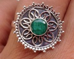 Mystical LOVE RING Witches blessed Emerald by trulymagick on Etsy, £29.99
