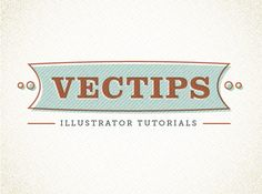 Create a Reusable Retro Type Treatment. #vectips.com #illustrator #Ryan_Putnam