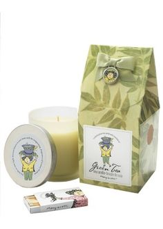 I love to light these natural soy candles with essential oils of green,white tea and ethereal asian flowers