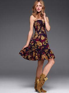 Victoria Secret. The shoes, the dress. Love it.