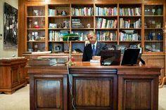 2013 Nelson Mandela's desk