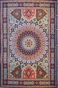 Gonbad Royalty Silk Persian Rug You pay: $7,900.00 Retail Price: $14,900.00 You Save: 47% ($7,000.00) Item#: PF-475 Category: Medium(6x9-8x11) Persian Rugs Design:  Size: 202 x 305 (cm)      6' 7 x 10' 0 (ft) Origin: Persian, Tabriz Foundation: Silk Material: Wool & Silk Weave: 100% Hand Woven Age: Brand New KPSI: 500
