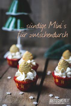 sündige Mini Spekulatius Cupcakes für Weihnachten