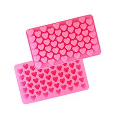 Witkey 55 Cavity Loving Heart Shape Silicone Decorating Craft Mold for Cake Cupcake Fondant Chocolate Jello Candy Biscuit and Soap Mold * Tried it! Love it! Click the image. : bakeware