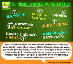 Os bichos-papões da matemática! #Enem #PlantaoEnem