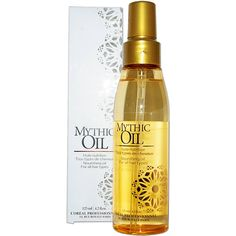 L'Oreal+Mythic+Oil,+125ml Nutrition, Drinks, Bottle, Beauty, Transitioning Hair, Hair Type, Oil, Drinking, Beverages