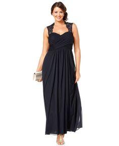 Xscape Embellished Side Drape Sheath Dress (Plus Size) Prom Dresses, Fashion 2017, Trendy Fashion, Sheath Dress, Bodycon Dress, Dress Plus Size, Prom Girl, Buy Dress, Mariage