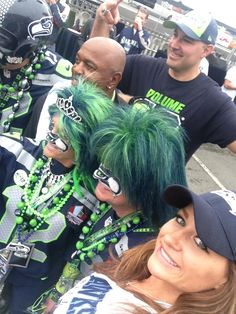Seahawks fans, Joe Tafoya and (Can anyone tell me who else?) and me :)