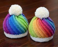 Crochet Swirled Beanie