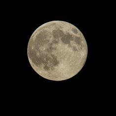 Súper Luna vista desde Washington