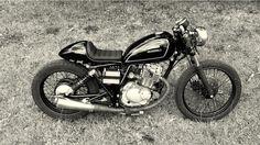 RocketGarage Cafe Racer: Gn 125 By TerrorCycles Suzuki Cafe Racer, 125cc Motorbike, Moto 125cc, Scrambler, Cafe Moto, Cafe Bike, Hells Angels, Ghost Rider, Suzuki Intruder 250
