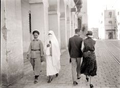French Algeria - the juxtaposition of the Muslim Arabs and the French Algerians.