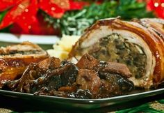 Meat Recipes, Chicken Recipes, Cooking Recipes, Queens Food, Hungarian Recipes, Hungarian Food, Christmas Dishes, Top 5, Bacon