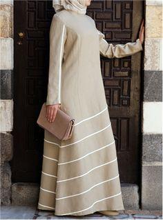 SHUKR International | Bias Trim Dress