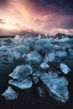 Frost Genesis- Photography by Javier de la Torre http://ift.tt/1B3fp7A The genesis of a new day.