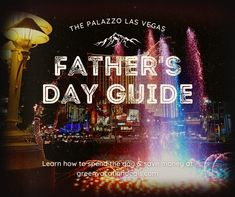 Guide to spending Father's Day at The Palazzo at the Venetian in Las Vegas, Nevada. Learn about activities, menu at restaurants & how to get discount rates. Travel advice for an amazing Las Vegas trip for Father's Day holiday. Travel gift ideas for Father's Day. #PalazzoLasVegas #vegas #lasvegas #fathersday #fathersdaygifts #fathersdaygift #fathersdaytravel #vegasbaby #nevada #vegasbound #sincity Las Vegas Restaurants, Las Vegas Hotels, Las Vegas Vacation, Vacation Spots, Palazzo Las Vegas, Travel Gifts, Travel Advice, Holiday Travel, Venetian
