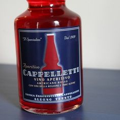 CAPPELLETTI SHOULD BE THE FIRST BOTTLE YOU ADD TO YOUR BAR THIS SPRING