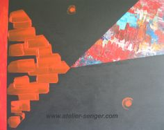 Das Farbenspiel, 92 x 73 cm. Bitte hier klicken: www.art-senger.com #malerei #kunst #art #farben Painting Art, Innovation, Abstract Art, Mood, Inspiration, Play, Colors, Artist, Artwork