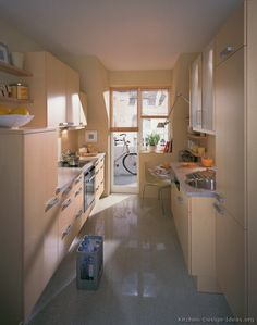 #Kitchen Idea of the Day: Small European Kitchen (By ALNO, AG)