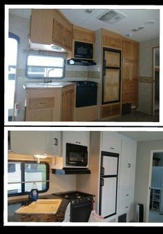 Keystone Cougar 5th Wheel Remodel Using Giani Counter Top Transformations Rving Remodeled