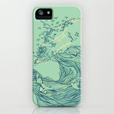 Ocean Breath iPhone & iPod Case by Huebucket - $35.00