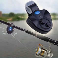 """FISH ON!  Fish Bite Alarm and LED.  FREE SHIPPING TODAY!  Get Yours Here >http://patiencefaithrewardstore.com/products/wireless-fish-bite-alarm-sound-with-led  If you LIKE, type """"YES"""" or Tag someone that would wear this! #outdoors, #campinggear, #fishinggear, #ClimbingGear"""