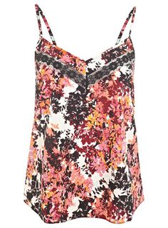 Lace Insert Sprig Cami