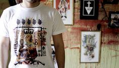 Camiseta Madre Guerra de Cerezo