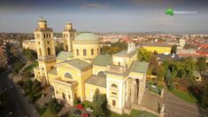 Eger Town and the Mountain Bükk video, Hungary Archive Video, Heart Of Europe, Budapest Hungary, Homeland, Taj Mahal, Mansions, Landscape, House Styles, City