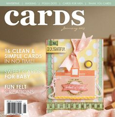 NEW ARRIVALS!!! Scrapbook Trends and Cards January 2013 in SnC