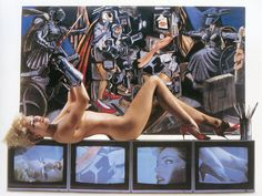 Tits and Tires: The Pirelli Calendar from 1964 to Today: 1986 - Bert Stern <--SO HAUTE