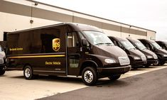 UPS electrifying with new delivery truck fleet Parcel delivery and logistics company UPS plans to deploy 50 electric delivery trucks as part of its fleet of brown vehicles, a move it expects could give a [. 6x6 Truck, Trucks, United Parcel Service, Commercial Vehicle, Small Cars, Cool Cars, Philadelphia, Fun Facts